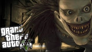 GTA 5 Mods - DEATH NOTE MOD w/ RYUK (GTA 5 PC Mods Gameplay)