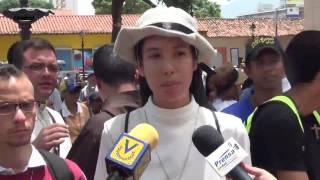 Feligreces elevaron cantos y oraciones por la paz de Venezuela durante movilización en Ccs