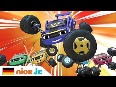 Blazes Ninja-Lied🥋Blaze Und Die Monster-Maschinen | Nick Jr. Auf Deutsch