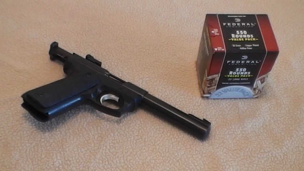 federal bulk red box ruger 22 45 22lr ammo testing youtube