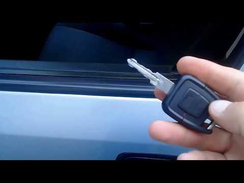 Открытие и закрытие автомобиля Опель астра G