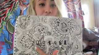 ☯Showing Off My Artwork | Pen Work☯