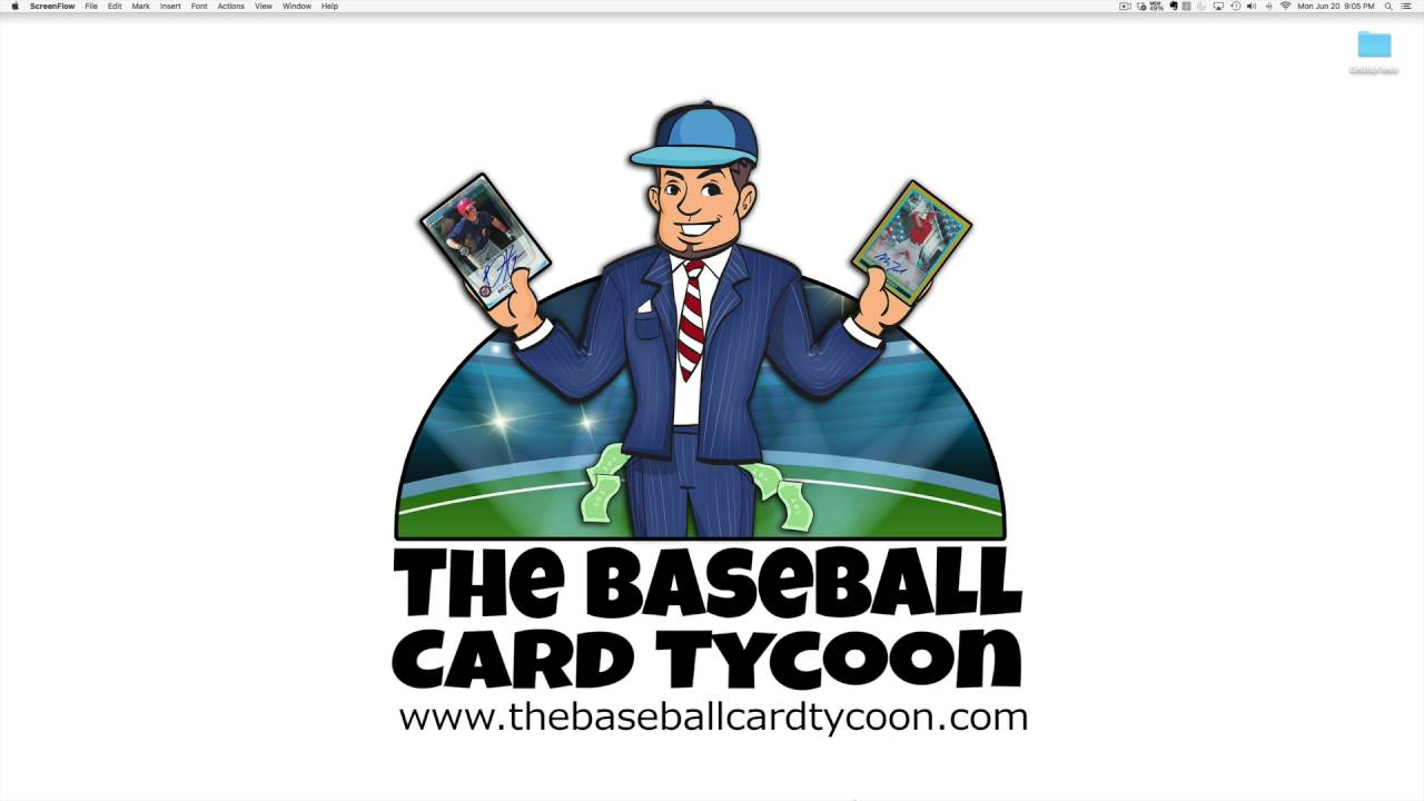 How To Make Money With Baseball Cards Investing Idea 2