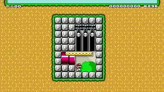 変なリフトばかりですまぬ Funny lifts by なもなきたびびと 🍄 Super Mario Maker 2 #akz