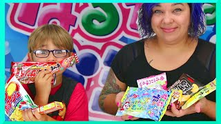 Video American Kid and Mom Taste Japanese Junk Food Snacks and Candy download MP3, 3GP, MP4, WEBM, AVI, FLV Oktober 2018