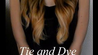Décoloration Pointes Des Cheveux Pour Tie & Dye Pastel  Partie 1