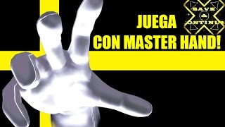 Save & Continue Tutorial: Jugar con Master Hand en Super Smash Bros Melee