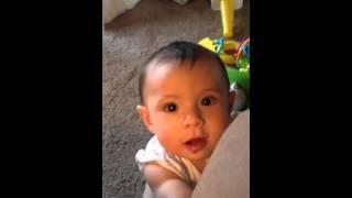 Baby Tata pooping