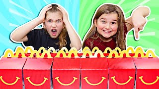 Don't Choose the Wrong McDonald's Happy Meal Slime Challenge! | JKrew