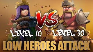 Strategy For Low Heroes TH9 Attack Part 28 | Clash Of Clans