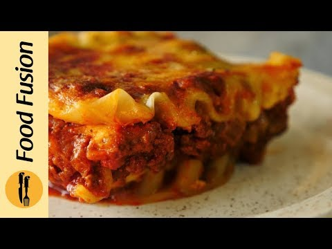 Lasagne With Homemade Ricotta Cheese Recipe By Food Fusion