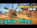 Let's Play Demolish And Build 2018 #14: Lignite Mine!