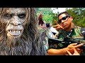 ANGELO FIGHTS THE BIGFOOT! - Sasquatch Actually Found. Rare Javier Vargas TV! (Funny Parody Comedy)