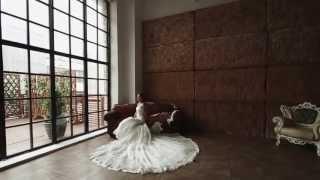 Пример рекламы свадебных платьев в исполнении студии