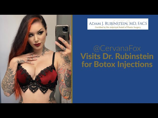Cervena Fox Comes in for a Light Botox Touch Up