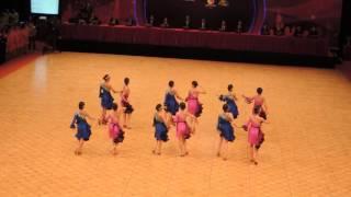 亞洲青年體育舞蹈專項錦標賽2016 - 馮李佩瑤小學A隊
