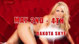 Larry Flynt's Hustler Club St Louis Dakota Skye appearance