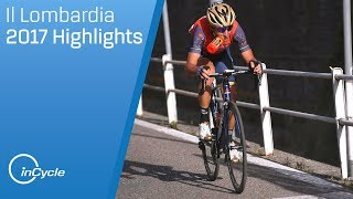 Il Lombardia 2017 | Full Race Highlights | inCycle