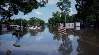 CNN drone cam shows flooding devastation in Louisiana thumbnail