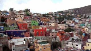 Panoramic View of Guanajuato Mexico. History, Color & Tunnels