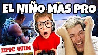 EL NIÑO DE 12 AÑOS MAS PRO DE FORTNITE!!!