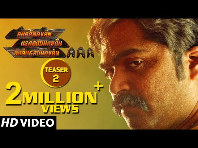 AAA Teaser | Ashwin Thatha Preview Teaser | STR, Tamannaah, Yuvan Shankar Raja, Adhik ravichandran