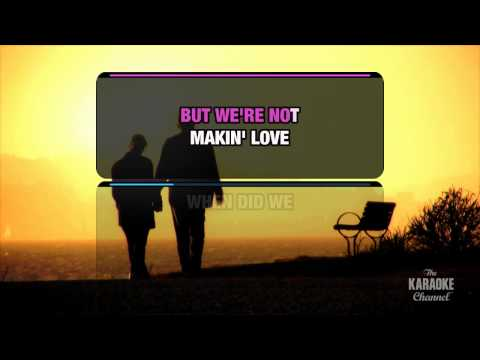 """We're Not Making Love Anymore in the Style of """"Patti LaBelle & Michael Bolton"""" (with lead vocal)"""