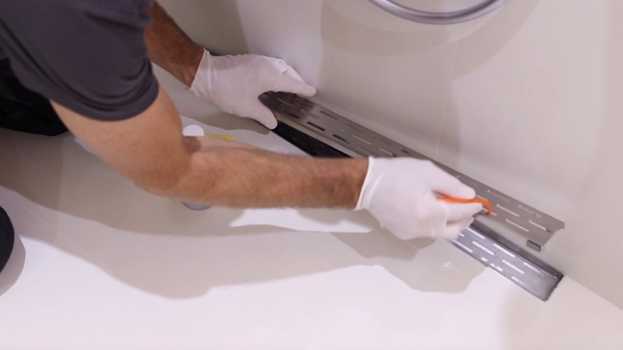 how to clean your shower drain in 3