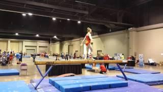 Gambar cover Sarah Ruesch 2016 level 8 regional beam routine