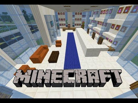 Minecraft: Eczane İç Tasarım Yapımı
