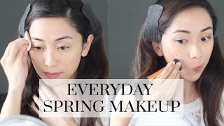 Everyday Spring Drugstore Makeup Tutorial ft. L'Oréal Lumi Cushion, spring makeup tutorial