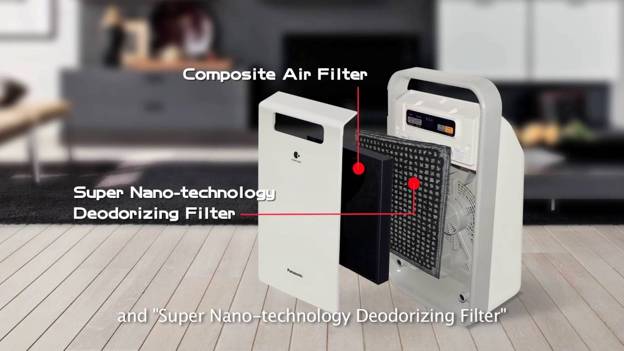 When To Change Air Filter >> Panasonic Air Purifier F-PXJ30A - YouTube