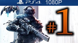 Killzone Shadow Fall Walkthrough Part 1 [1080p HD PS4] - First 30 Minutes! - No Commentary