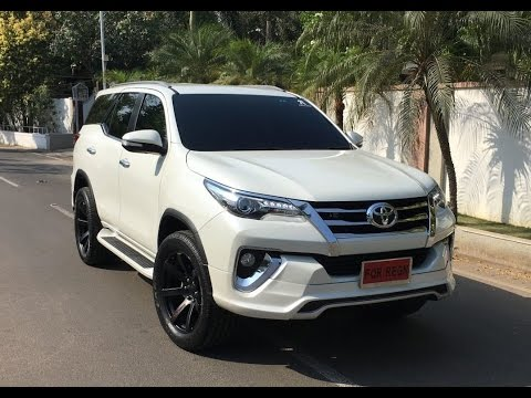 Customised Toyota Fortuner With A Fiar Design Body Kit