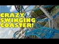 Drifting Coaster *NEW* Absolutely CRAZY Swinging Roller Coaster POV Oktoberfest Munich Germany