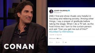Gary Gulman Tweets Daily Advice For Young Comics - CONAN on TBS