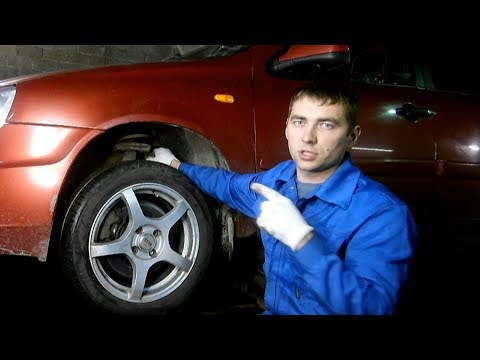 Проверка подвески автомобиля, диагностика своими руками