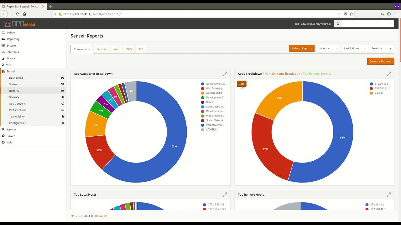 Advanced Network Analytics on OPNsense with Sensei