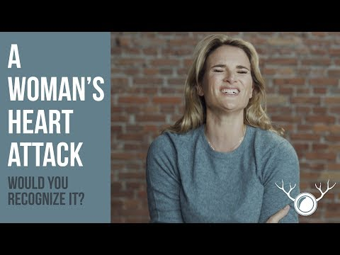 Would you recognize when a woman is having a heart attack?