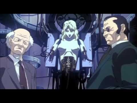 Ghost in the Shell (1995) My favourite scene poster