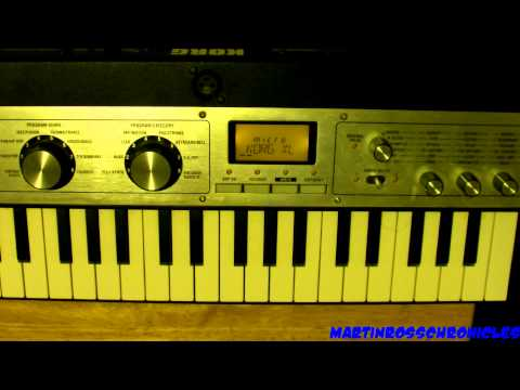 How To Patch Your MicroKorg XL