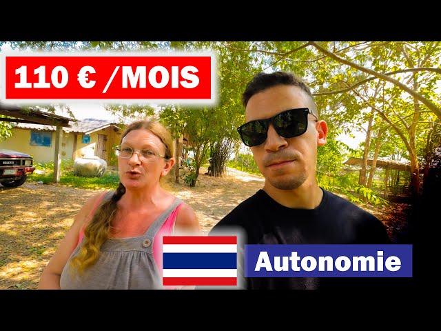 💰 Vivre en THAÏLANDE pour MOINS DE 110 € /MOIS 🇹🇭  Autonomie [ Partie 1/1 ]