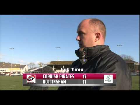 Ian Davies Post Match Reaction - Nottingham 23/03/14