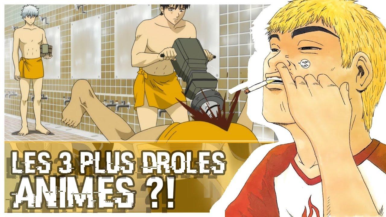 Ces 3 Animes Sont Les Plus Droles Youtube