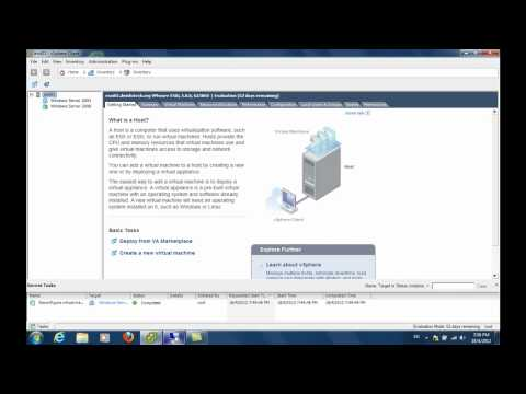 Extending The System Partition Of A Windows Server 2008 Virtual Machine
