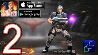 Garena Contra Return Android iOS Walkthrough - Part 2 - Story Mode: First Contact, Zombie Crisis