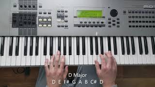 Major Scales   C G D A E B
