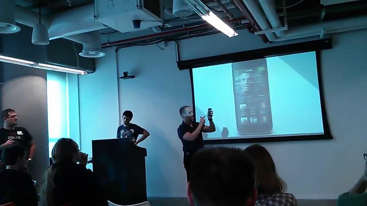 google campus tel aviv. Ron Segal - Invitio Pitch At AngelHack 28, Google Campus Tel Aviv