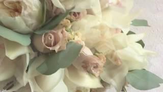 Свадьба в цвете марсала и капучино -  Флористика и Декор свадеб в Киеве