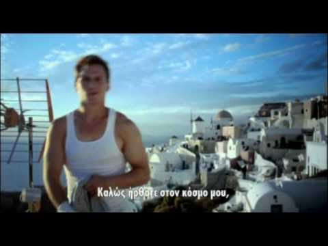 Ryan Doyle-Red Bull Commercial in Santorini Greece